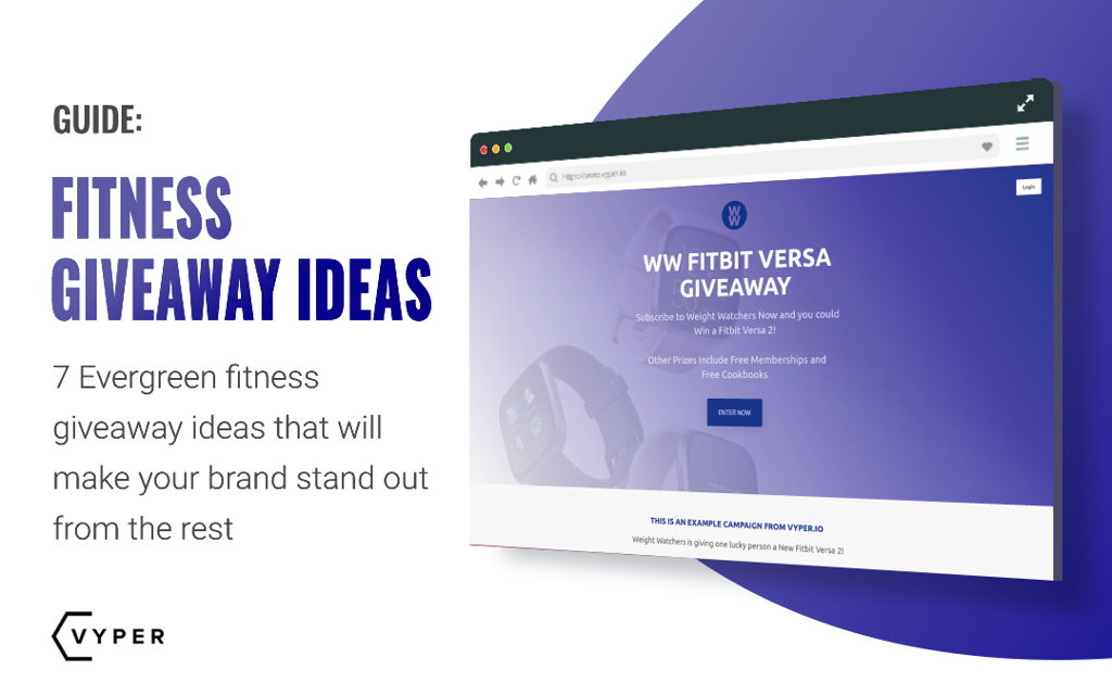 Fitness Giveaway Ideas