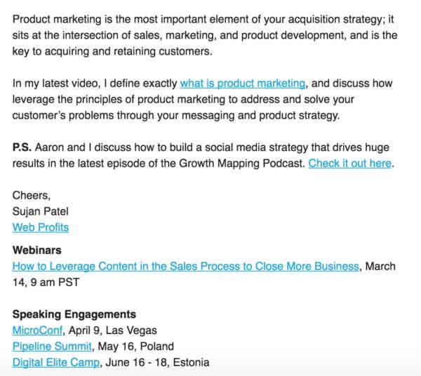 Sujan Patel Podcast Marketing