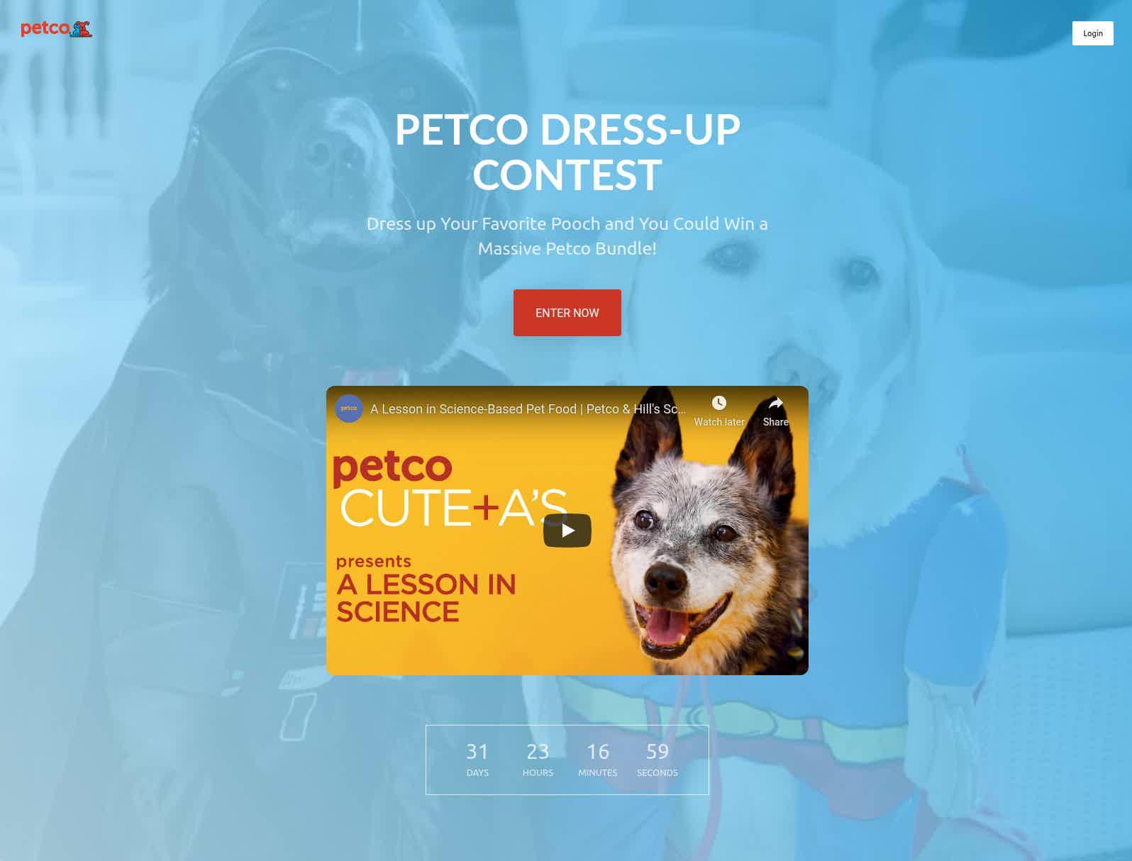 petco contest vyper header edits