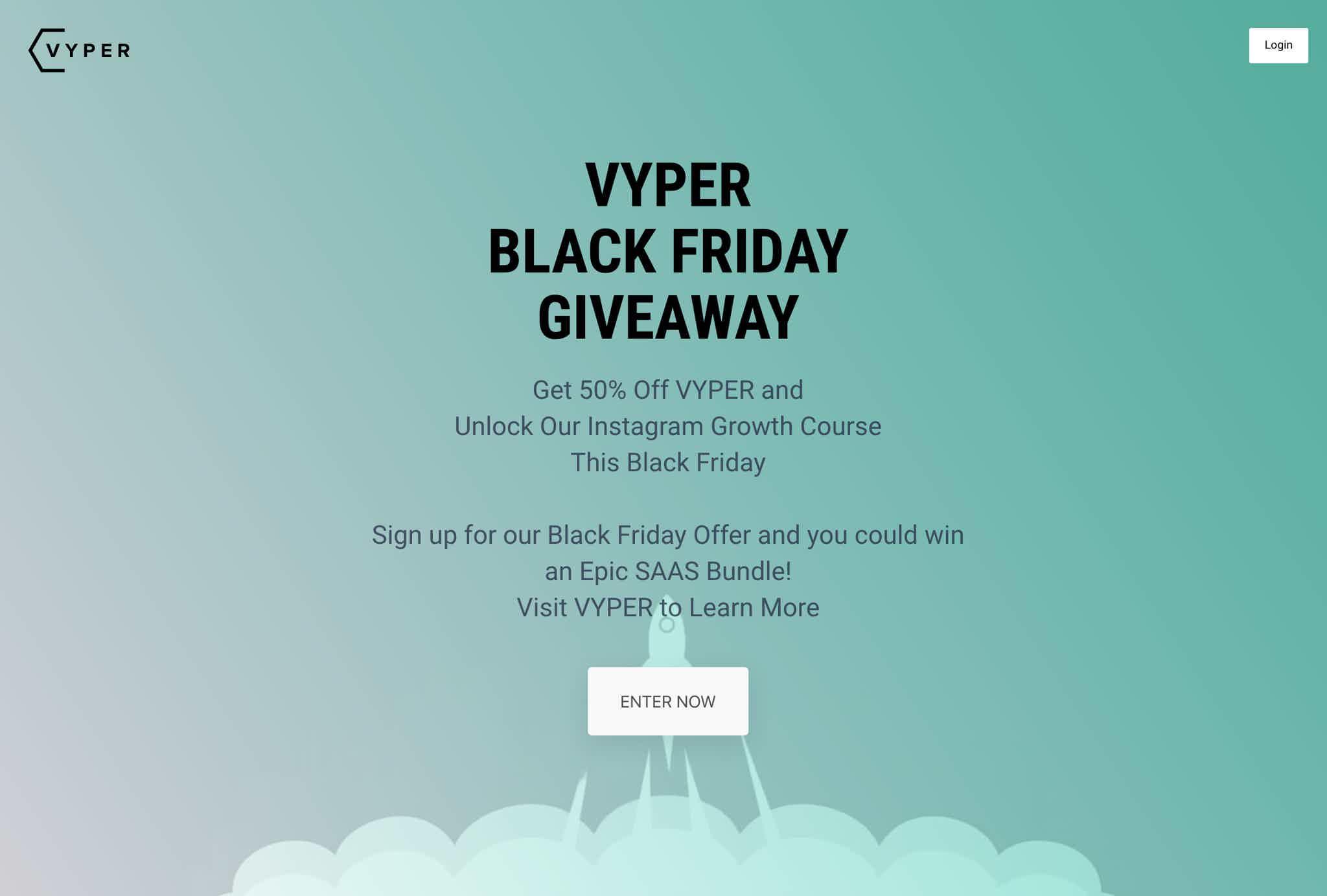 VYPER Black Friday Giveaway