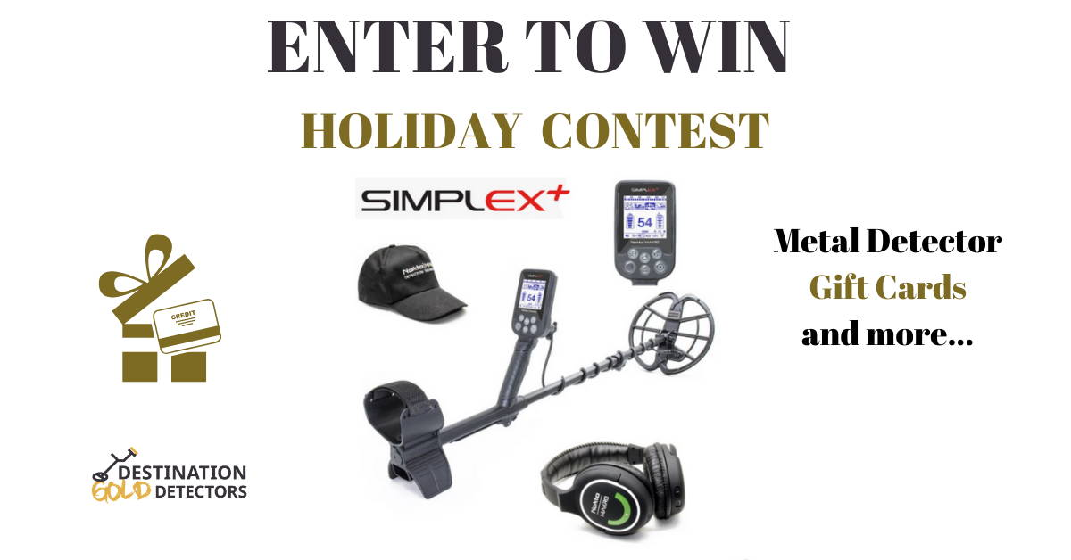 Metal Detector Contest Holiday Giveaway
