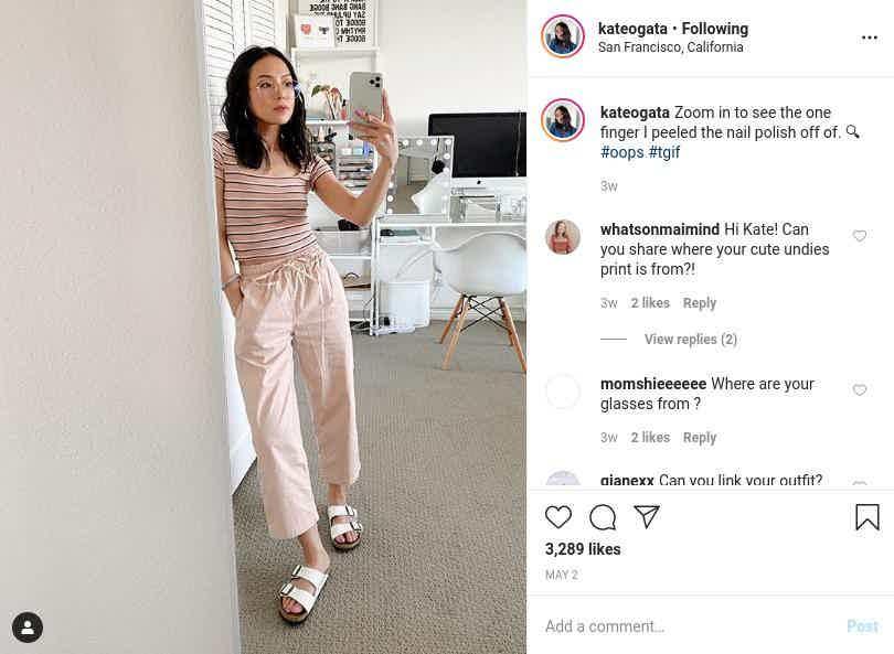 kateogata Instagram