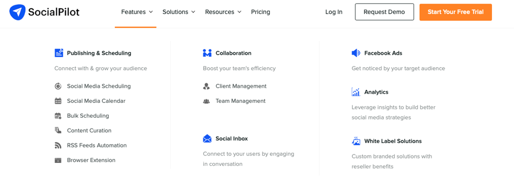 Socialpilot social media tools