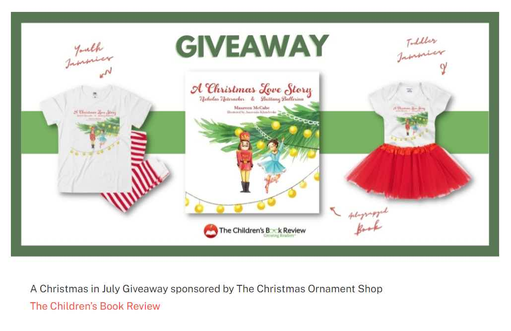 The Christmas Ornament Shop Giveaway
