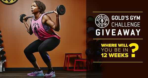Golds gym giveaway