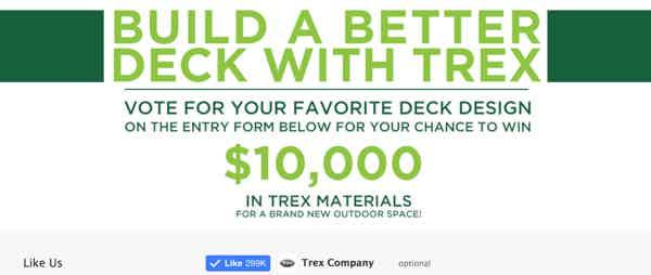 Trex Materials Contest