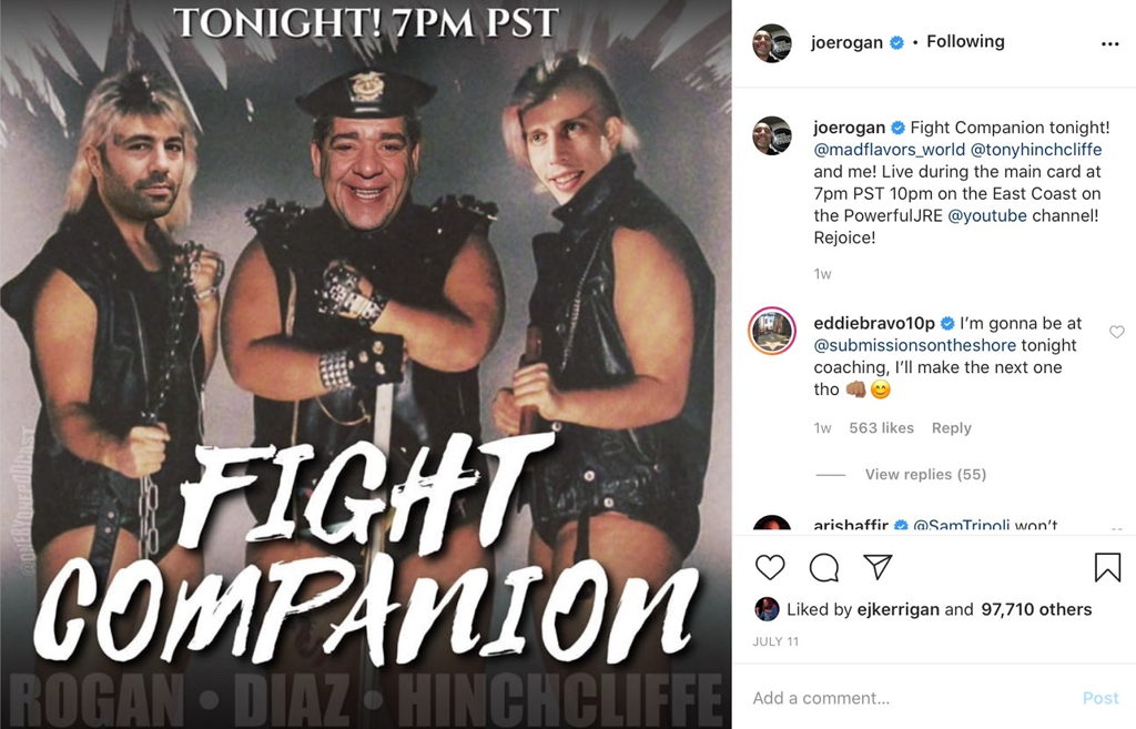 Fight companion July 2020