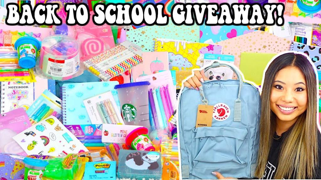 itsKristiii Back to school giveaway