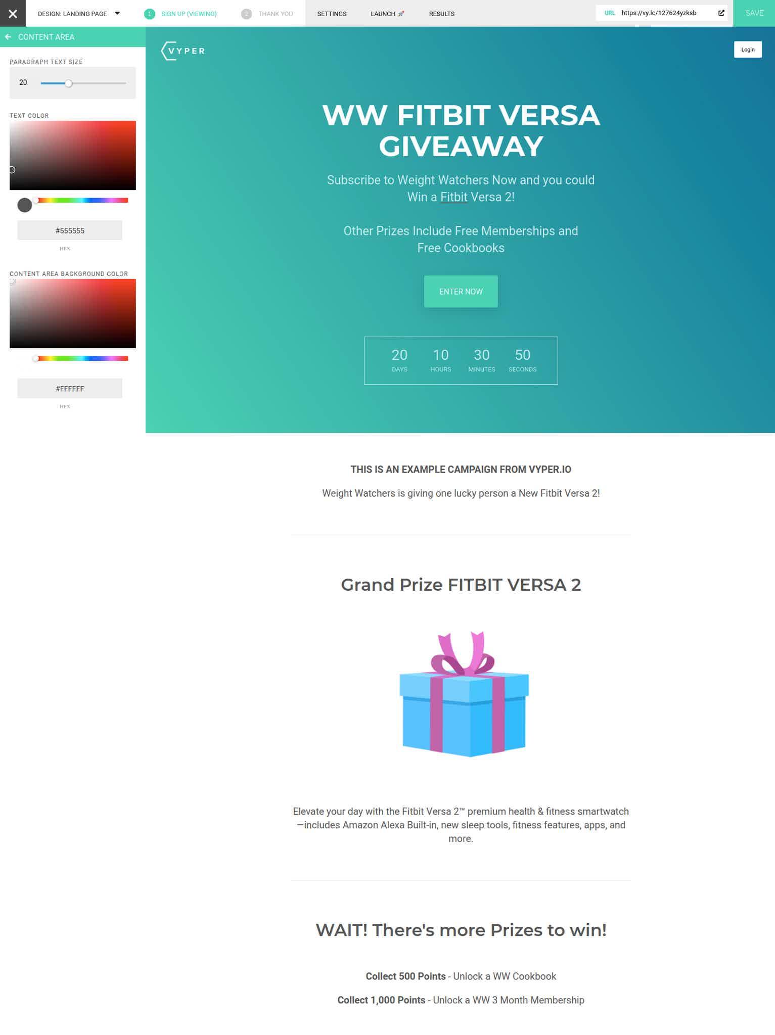 WW VYPER Giveaway Tutorial 01