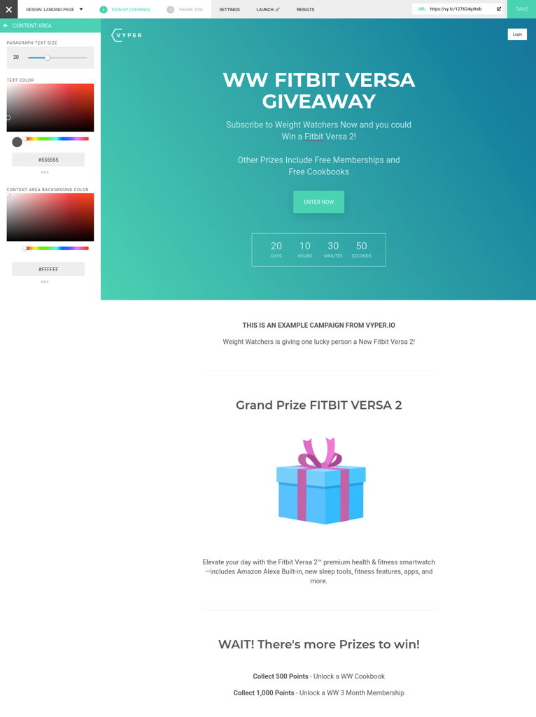 WW VYPER Giveaway Tutorial 01