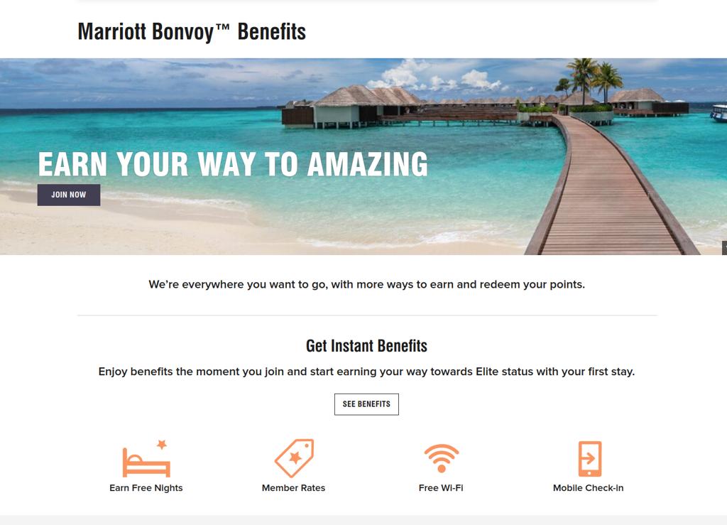 Marriott Bonvoy Loyalty Benefits