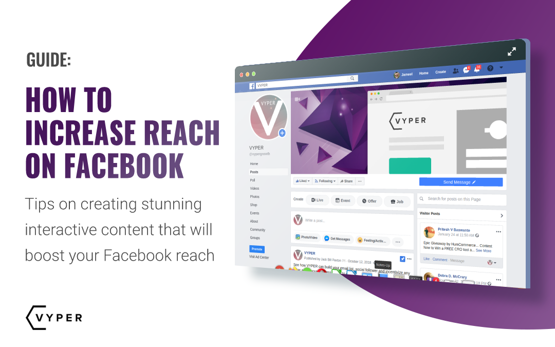 how to increase reach on facebook