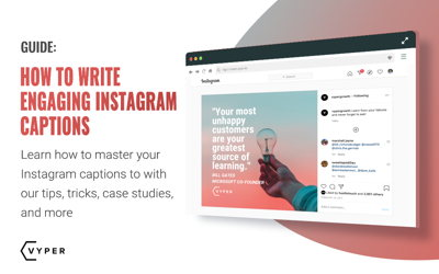 10 Expert Tips on Crafting Engaging Instagram Captions to Better Promote Your Brand