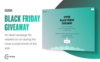 Black Friday Giveaway and Marketing Ideas